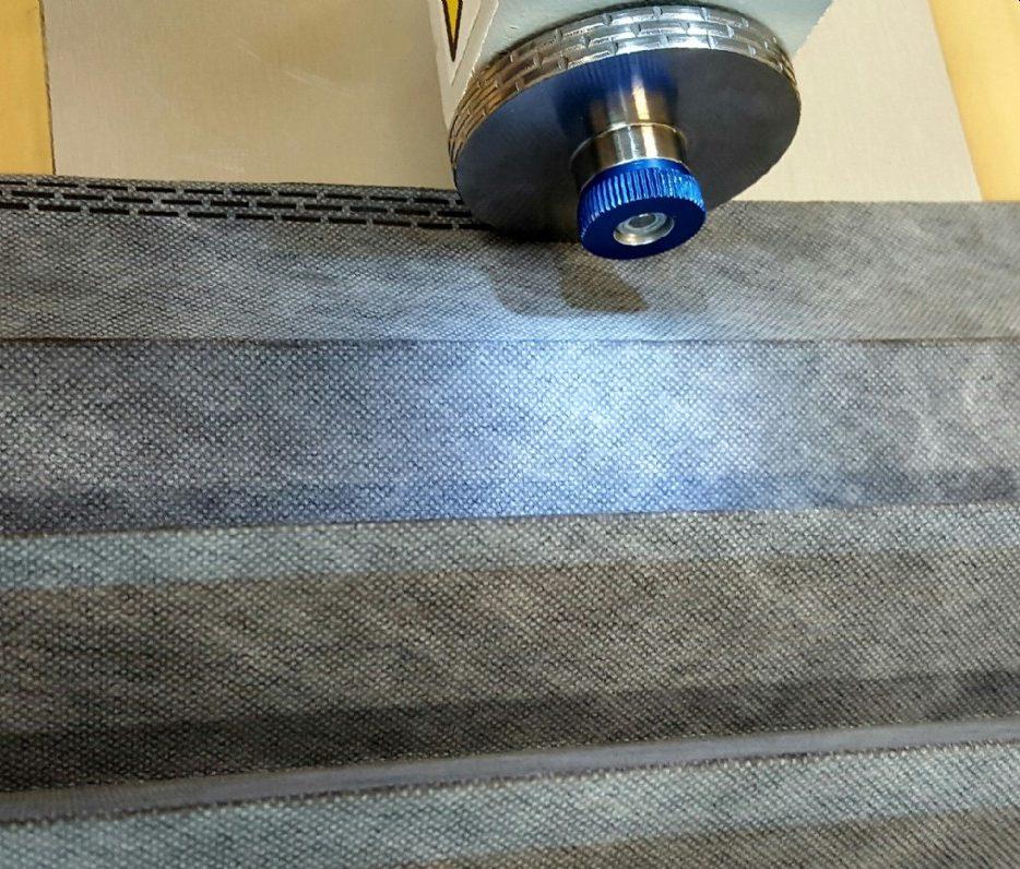 Saldatura a ultrasuoni in continuo per filtri plissettati