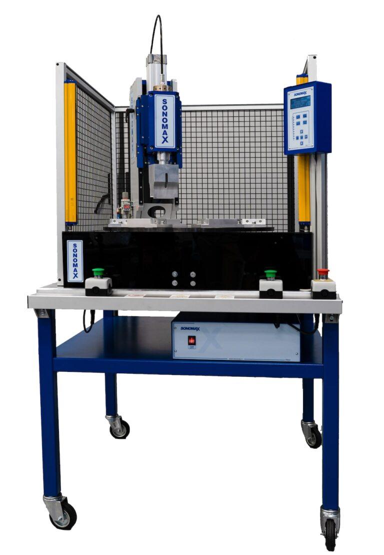 Impianto semiautomatico 20 kHz con tavola rotante Sonomax
